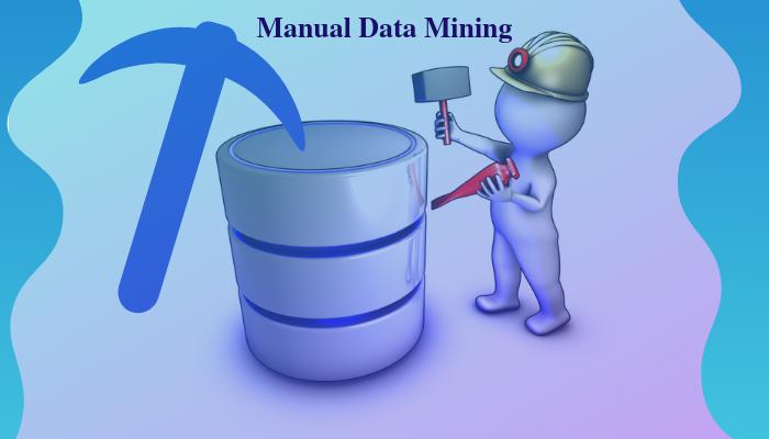 MANUAL DATA MINING